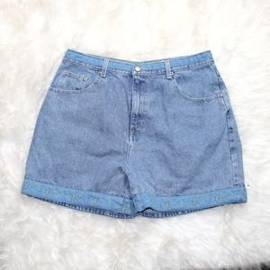 (342) VTG 1990s High Waisted Jeans Shorts